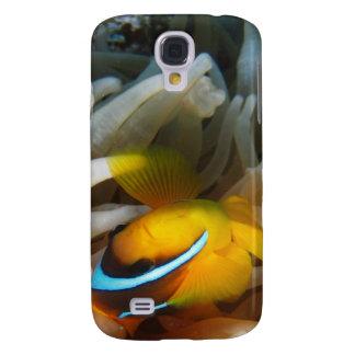 Orange Clown-Fische Galaxy S4 Hülle