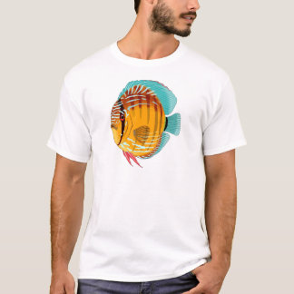 Orange Discus T-Shirt