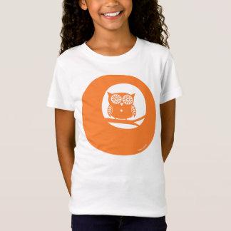 Orange Eulen-T - Shirt Safran-Craig