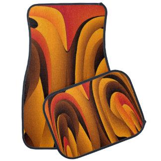 Orange Farbe abstrakt Automatte