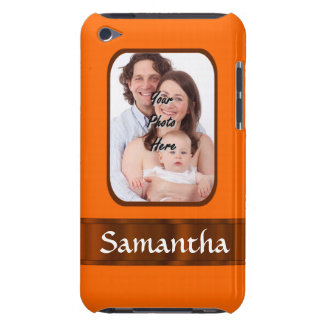 Orange Farbe personalisiert Case-Mate iPod Touch Hülle