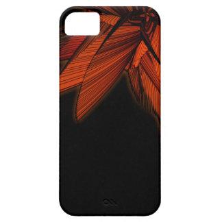 Orange Farn iPhone 5 Hülle