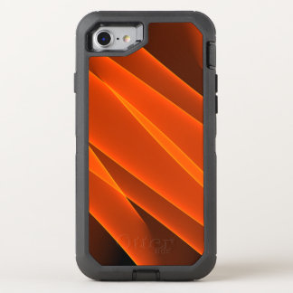 Orange Flammen OtterBox Defender iPhone 8/7 Hülle
