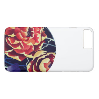 orange flower iPhone 8 plus/7 plus hülle