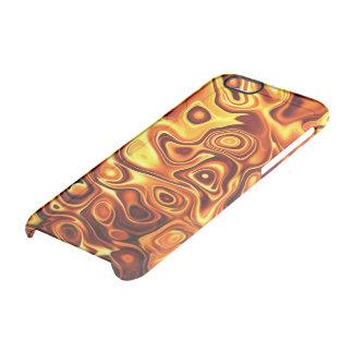 Orange Flüssigkeit Durchsichtige iPhone 6/6S Hülle