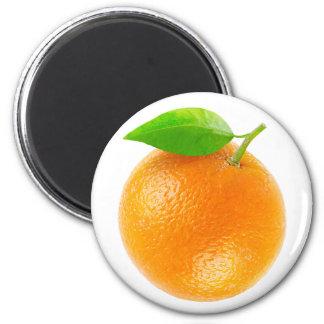 Orange Frucht Runder Magnet 5,1 Cm