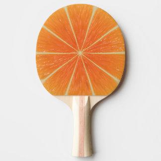 Orange Frucht Tischtennis Schläger