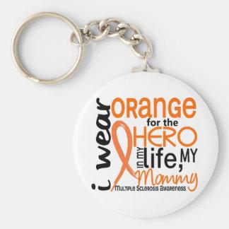Orange für Mama Mitgliedstaat-multiple Sklerose de Schlüsselanhänger
