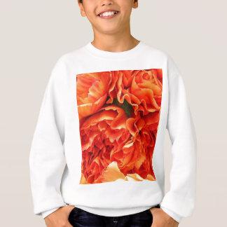 Orange Gartennelken Sweatshirt