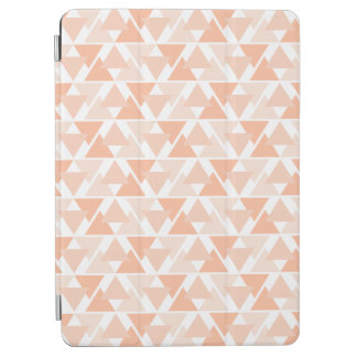 Orange geometrische Dreieck-Entwurf iPad iPad Pro Cover