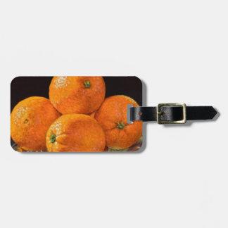 Orange Gießerei Kofferanhänger