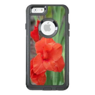 Orange Gladiolas OtterBox Pendler iPhone Kasten OtterBox iPhone 6/6s Hülle
