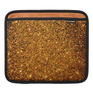 Orange Glitzern Sleeves Für iPads