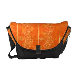 orange Goldbote Courrier Taschenverzierung Kurier Tasche