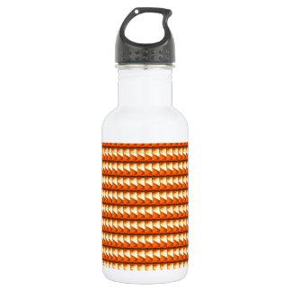 Orange goldene Energie-Kunst NavinJOSHI des Trinkflasche