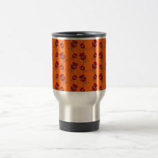 Orange Grillmuster Teetasse