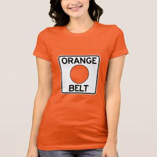Orange Gurt-T - Shirt Pittsburghs (der Schnitt der