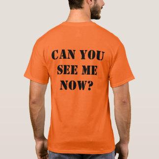 """Orange Hallo-Kräfte Shirt: """"KÖNNEN SIE MICH JETZT T-Shirt"""
