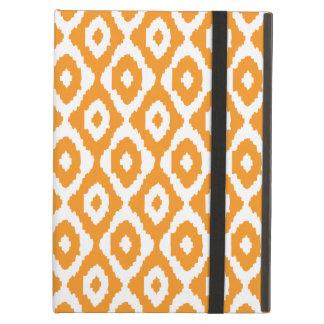 Orange Ikat Muster-iPad Air ケース