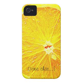 Orange iPhone 4 Hülle