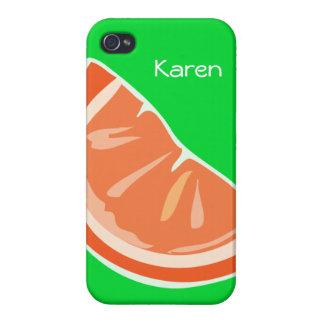 Orange iPhone Kasten iPhone 4 Case
