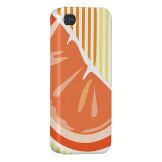 Orange iPhone Kasten iPhone 4 Cover