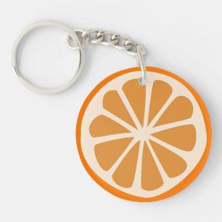 Orange J Schlüsselanhänger