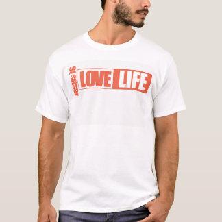 orange Jesus ist (weißer Hintergrund) T-Shirt