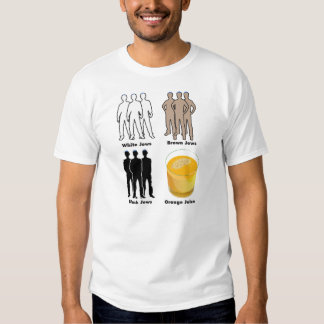 Orange Juden Hemden