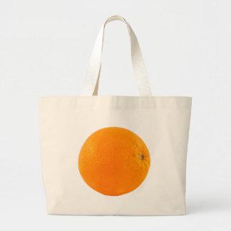 Orange Jumbo Stoffbeutel