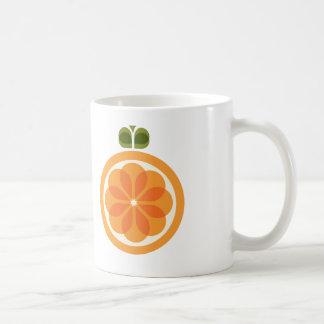 Orange Kaffeetasse