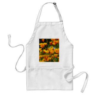 Orange Kalifornien Poppies_3.1 Schürze