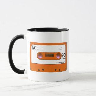Orange Kassette Tasse