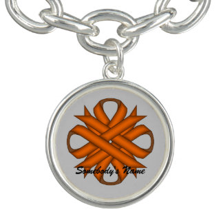 Orange Klee-Band durch Kenneth Yoncich Armband