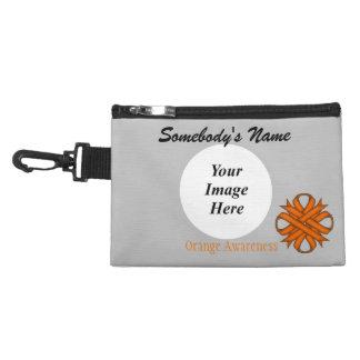 Orange Klee-Band Kulturtasche