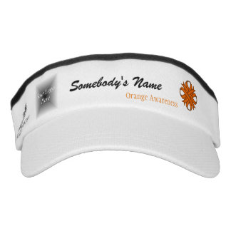 Orange Klee-Band-Schablone Visor