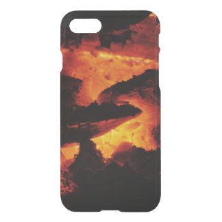 Orange Kohlen iPhone 7 Kasten iPhone 8/7 Hülle
