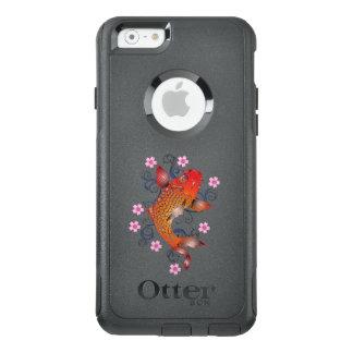 Orange Koi Fisch-Tier Asiens OtterBox iPhone 6/6s Hülle