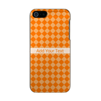 Orange Kombinations-Diamant-Muster durch STaylor Incipio Feather® Shine iPhone 5 Hülle