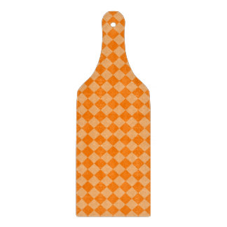 Orange Kombinations-Diamant-Muster durch STaylor Schneidebrett