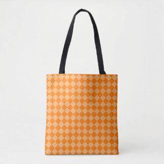Orange Kombinations-Diamant-Muster durch STaylor Tasche