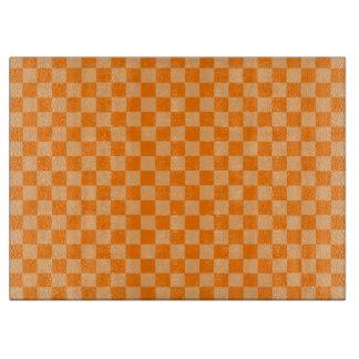 Orange Kombinations-Schachbrett durch Shirley Schneidebrett