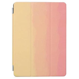 orange korallenrote Aquarelle des neuen iPad Air Cover