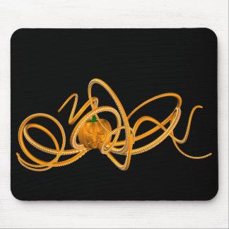 Orange Krake Mousepad