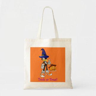 Orange kundenspezifische Halloween-Leckerei sackt Tragetaschen
