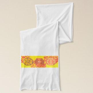 Orange Kürbis-Tanz-Schal Schal
