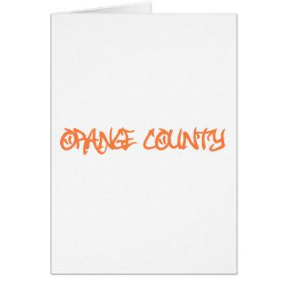 Orange Landkreis Karte
