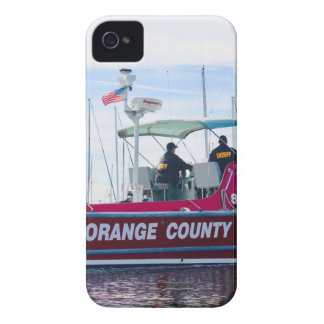 Orange Landkreis-Sheriff iPhone 4 Case-Mate Hüllen