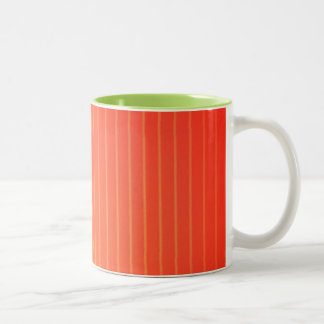 Orange LED-Lampe Zweifarbige Tasse