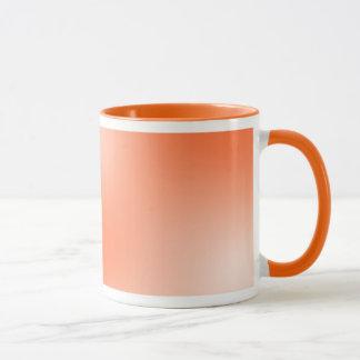 Orange Licht Tasse